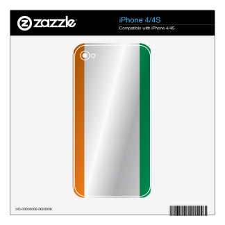 Ivory Coast flag Skins For The iPhone 4S