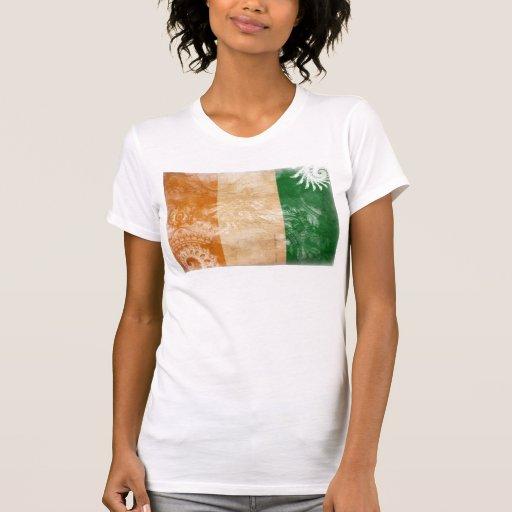 Ivory Coast Flag Tanktops