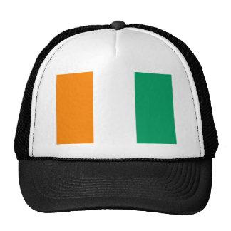 Ivory Coast Flag Trucker Hat
