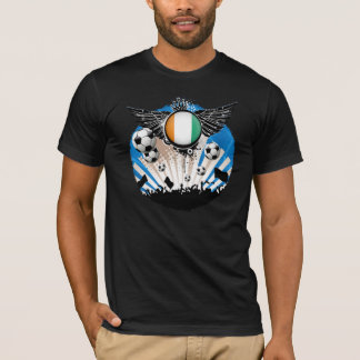 ivory coast football supporters  tshirt