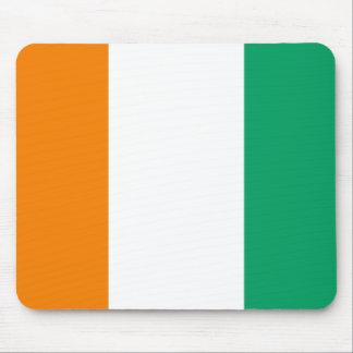 Ivory Coast National World Flag Mouse Pad