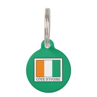 Ivory Coast Pet Name Tag
