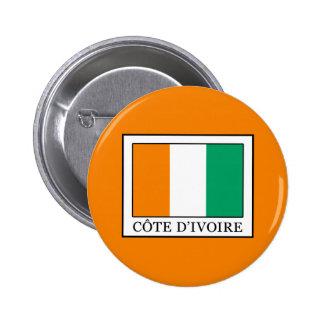 Ivory Coast Pinback Button