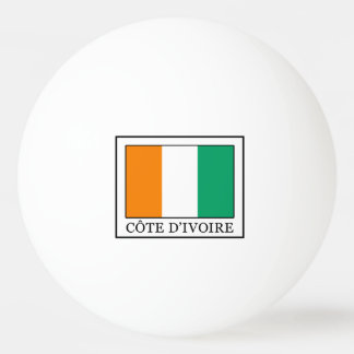 Ivory Coast Ping Pong Ball