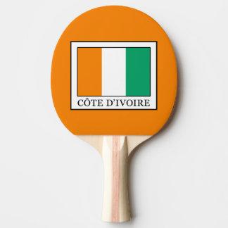 Ivory Coast Ping-Pong Paddle