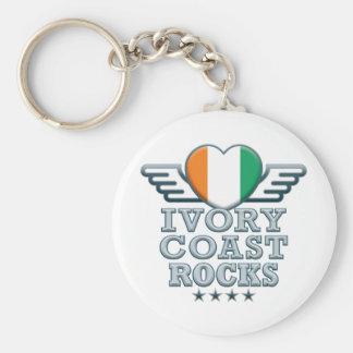 Ivory Coast Rocks v2 Keychains