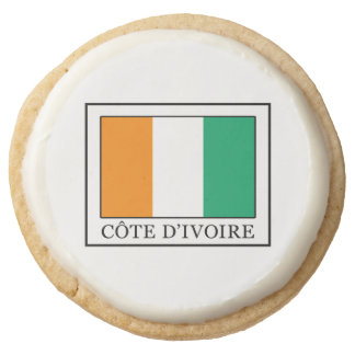 Ivory Coast Round Shortbread Cookie