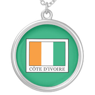 Ivory Coast Silver Plated Necklace