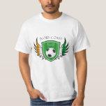 Ivory Coast Soccer Ball Football T Shirt