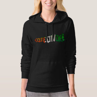 Ivory Coast Soccer Cleat Hoodie