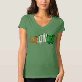 Ivory Coast Soccer Cleat T-Shirt