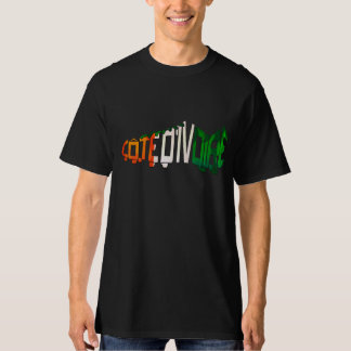 Ivory Coast Soccer Cleat T-Shirt