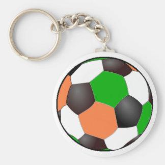 Ivory Coast Soccer Keychain