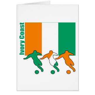 Ivory Coast - Soccer Players Card
