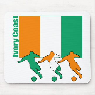 Ivory Coast - Soccer Players Mousepads