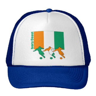 Ivory Coast - Soccer Players Trucker Hat
