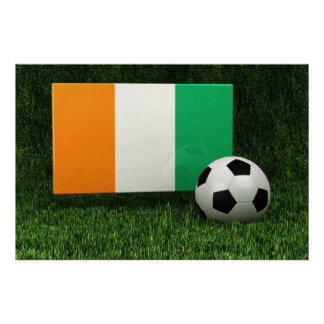 Ivory Coast Soccer Poster