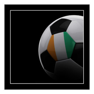 Ivory Coast Soccer - POSTER
