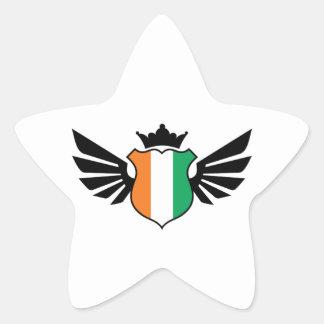 Ivory Coast soccer Star Sticker