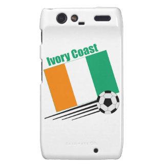 Ivory Coast Soccer Team Droid RAZR Cases