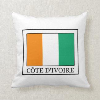 Ivory Coast Throw Pillow