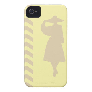 Ivory Cream Neutral Chevrons Fashion iPhone 4 Case-Mate Cases