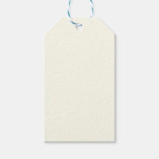 Off White Gift Tags | Zazzle