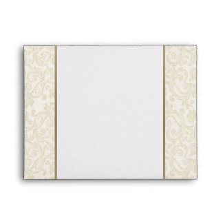 Ivory & Gold Envelope - A2 Note