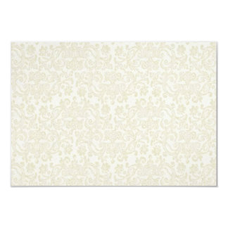 Ivory & Gold RSVP Note Card