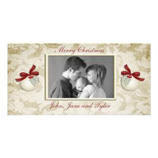 Ivory Holly Photo Card