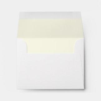 Ivory Interior A2 Envelope