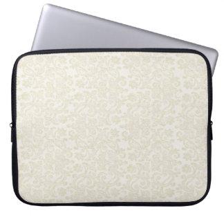 Ivory Lace Laptop Sleeve