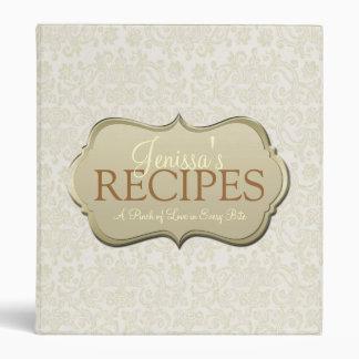 Ivory Lace Recipe Binder