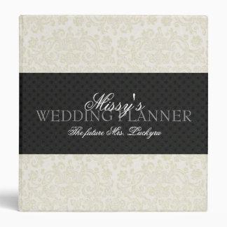 Ivory Lace Wedding Planner Binder