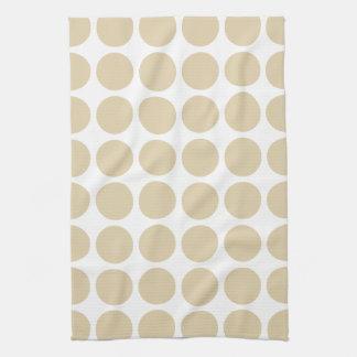 Ivory Neutral Dots Towel