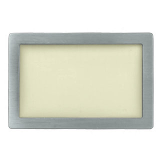 Ivory Off-White Solid Color Background Template Belt Buckles