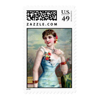 IVORY ON FLOWERS ( mid XIX century) Stamps