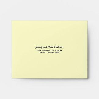 Ivory or Bone White A2 Envelopes