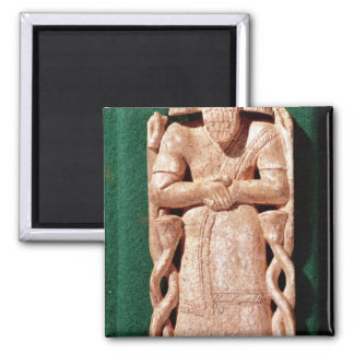 Ivory plaquette of a god magnets