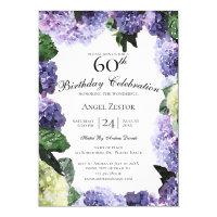 60th Birthday Invitations<