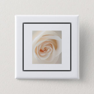Ivory Rose Button