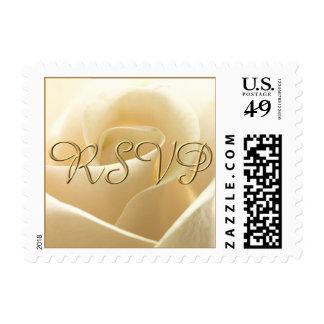 Ivory Rose RSVP postage