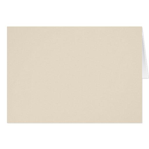 ivory sand tan color trend blank template card zazzle. Black Bedroom Furniture Sets. Home Design Ideas
