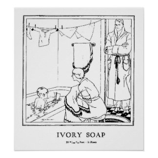 Ivory Soap Poster