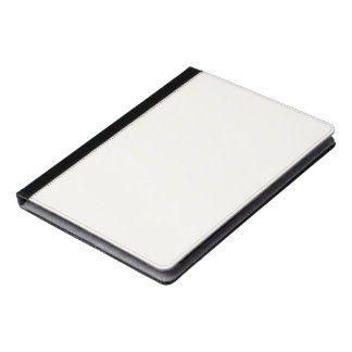 Ivory Solid Color Customize It iPad Case