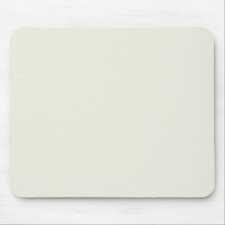 Ivory Solid Color Customize It Mouse Pad