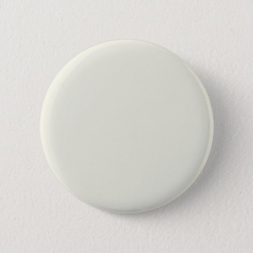 Ivory Solid Color Customize It Pinback Button