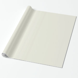 Ivory Solid Color Wrapping Paper
