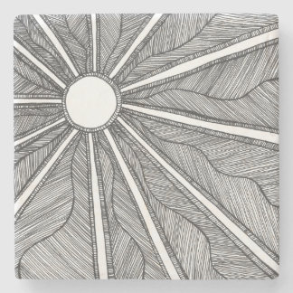 Ivory Sun Coaster