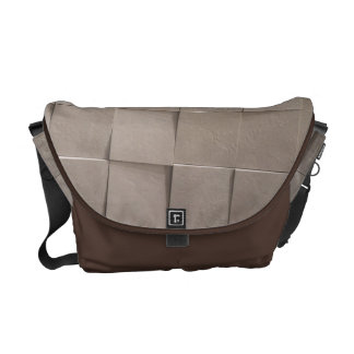 Ivory tiles messenger bag